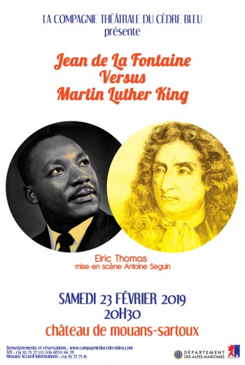 JEAN DE LA FONTAINE VERSUS MARTIN LUTHER KING