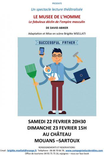 LE MUSEE DE L' HOMME le fabuleux déclin de l'empire masculin de David ABIKER