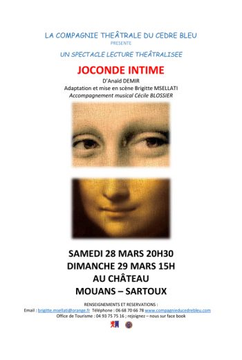 JOCONDE INTIME d'Anaïd DEMIR
